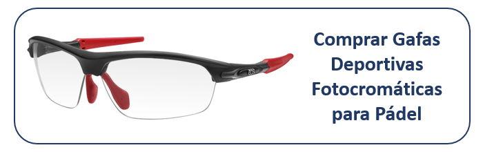 Comprar Gafas Fotocromáticas para Pádel